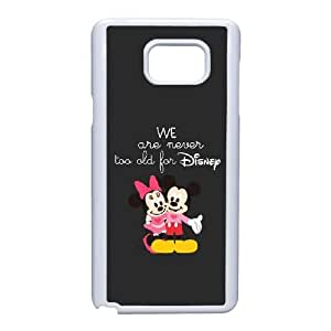 Disney Mickey Mouse Minnie Mouse-003 For Samsung Galaxy Note 5 Cell Phone Case White Cover xin2jy-4357603