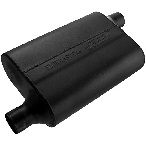 (Flowmaster 942043 40 Delta Flow Muffler - 2.00 Offset IN / 2.00 Offset OUT - Aggressive Sound)