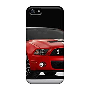 KaraPerron Iphone 5/5s Bumper Hard Cell-phone Case Support Personal Customs Vivid Ford Mustang Series [HMv15842OJZF]