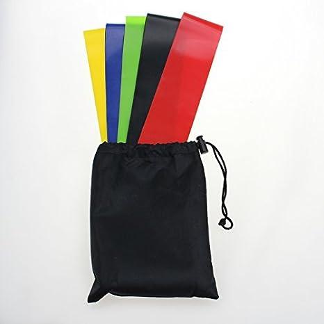 kofull - Cinturones elásticos de Resistencia para Ejercicios ...