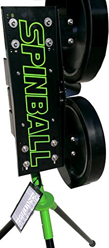 Spinball Wizard 2 Wheel Baseball Pitching Machine with Adjustable Release Point (ARP) Option