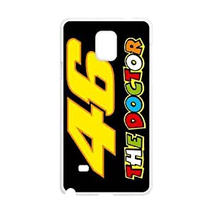 Samsung Galaxy Note 4 N9108 Phone Case White Valentino Rossi F5940058