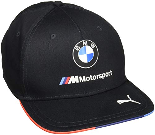 BMW Motorsports M-power Men's 2018 Gray Team Hat with PUMA logo on Brim