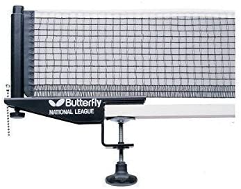 Red de tenis de mesa de la Liga Nacional de Butterfly & postes de juego de alta calidad de tenis de mesa Juego de gafas, New: Amazon.es: Deportes y aire libre