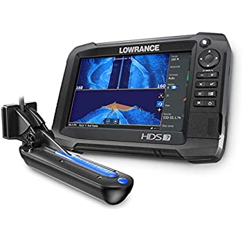 Amazon com: Elite-7 Ti - 7-inch Fish Finder with TotalScan
