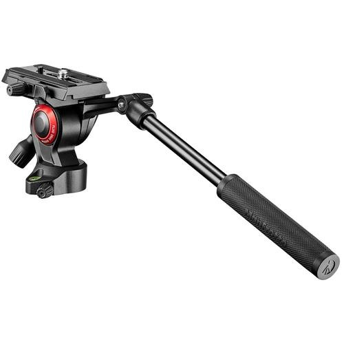 Manfrotto MVH400AHUS Lightweight, Travel Friendly Be Free Live Fluid Video Head, Black by Manfrotto