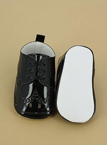 Boutique-Magique Schuhe Zeremonie Baby Hochzeit Taufe–Produkt Gespeichert und verschickt Schnell seit Frankreich Noir