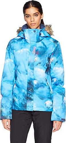 Roxy Women's Jet Ski 10K Jacket Bachelor Button Cold Medusa -