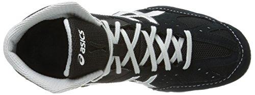 Asics Mens Cael V6.0 Chaussure De Lutte Noir / Argent