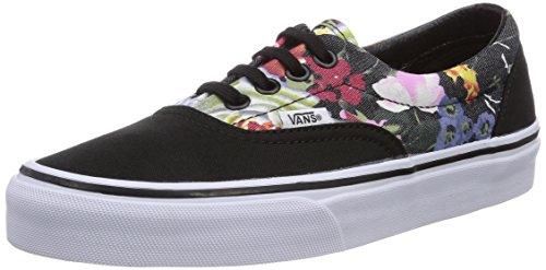 Vans Era - Zapatillas Unisex adulto Schwarz ((Floral) Black/ E08)