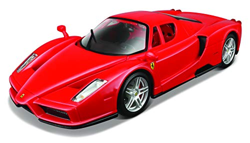 - Maisto 1:24 Scale Assembly Line Ferrari Enzo Diecast Model Kit (Colors May Vary)