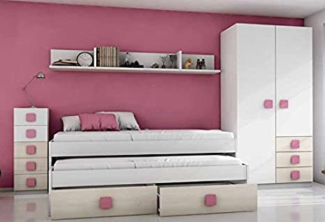Camere Da Letto Giovanili : Luxomobel mobili per camera da letto giovanile modello ceniza