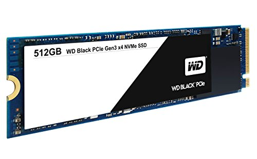 WD Black 512GB Performance SSD - 8 Gb/s M.2 2280 PCIe NVMe Solid State Drive – WDS512G1X0C by Western Digital (Image #1)