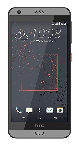 HTC 99HAHW033-00 Desire 530 Smartphone (4G) Graphit grau