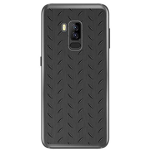 Tumundosmartphone Funda Gel TPU para BLUBOO S8 Plus diseño Metal ...