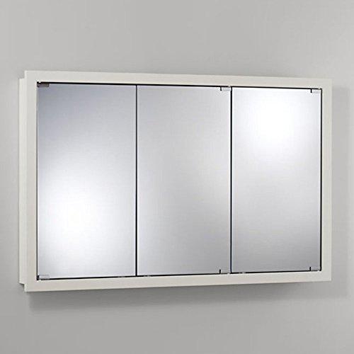 Jensen 740613 Granville Oversize Medicine Cabinet, Classic White, 48-Inch by 30-Inch by 4-3/4-Inch (48 Medicine Cabinet)