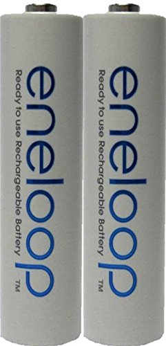 2 Pack AAA Panasonic Eneloop 4th generation NiMH Pre-Charged