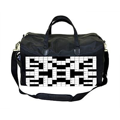new Crossword Puzzle Weekender/Overnighter Bag