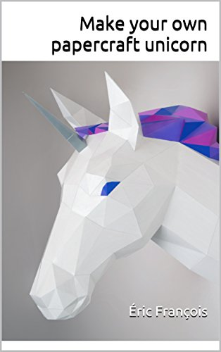 Make Your Own Papercraft Unicorn Diy Wall Mount 3d Sculpture