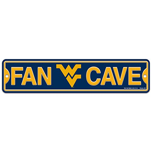 WinCraft West Virginia WVU Mountaineers Plastic Fan Cave Sign 4