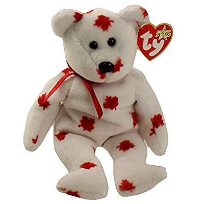 TY Beanie Baby - CHINOOK the Bear (Canada Exclusive): Toys & Games