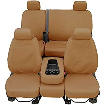 Surprising Amazon Com Covercraft Front Rear Set Of Seat Covers Tan For Beatyapartments Chair Design Images Beatyapartmentscom