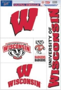 - NCAA Wisconsin Badgers Ultra Decal Sheet, 11