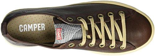 Camper Imar 18008-058 - Zapatillas de cuero para hombre Marrón (Medium Brown)