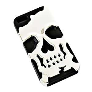 GHK - 3D Silicon Soft Silicone Fashion Ghost Devil Head Ghost Skull Bronze Case Cover for iPhone 5/5S
