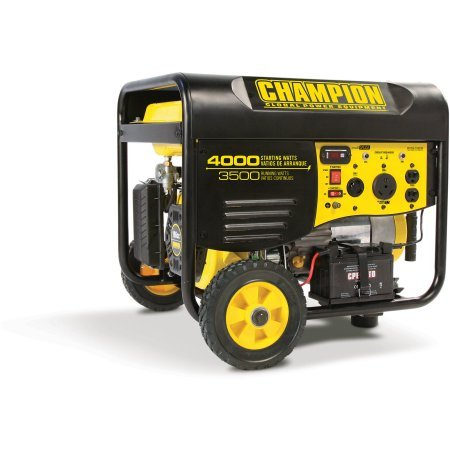 Champion Power Equipment 46539 3500 Watt RV Ready Portable Generator with Wireless Remote Start, Gasoline Powered, 12 hrs Duration