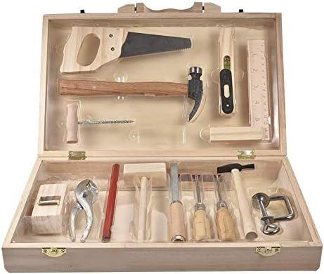 メンテナンスツールおもちゃ プレイハウスキット メンテナンス管理ツール ボックスおもちゃ 分解 多目的ボックス 木製 組立木箱子供 男の子