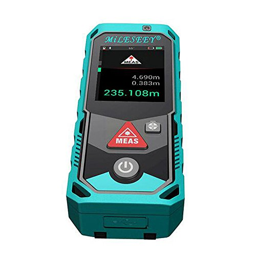Mileseey P7 Laser Measure 262Ft Mute Laser Distance Meter, Digital Laser Tape, IP65 LCD and Pythagorean Mode, Measure Distance / Area and Volume, Auto Level, Laser Class II, Camera Bluetooth APP by Mileseey® (Image #4)
