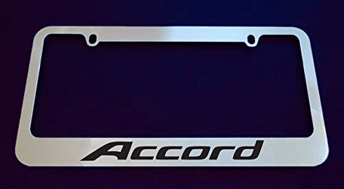 Honda Accord license plate frame with 2 screw ()