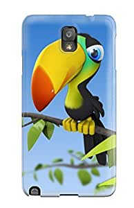 FSUboPp3672nakTT Tpu Phone Case With Fashionable Look For Galaxy Note 3 - Black Eyed Peas Baby Cute