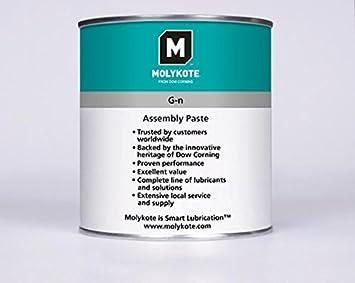 Molykote gnpp11 – High Performance Paste für die Montage, Grün/Weiß, 1 kg