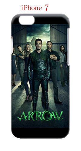 Laurel Lance Arrow Costume (iPhone 7 Case, The TV Series Arrow 29 Drop Protection Never Fade Anti Slip Scratchproof 3D Hard Plastic Case)