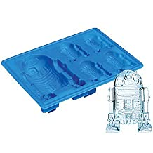 Star Wars: R2-D2 Ice Cube Tray: Classic Movie Character Kitchen Mold