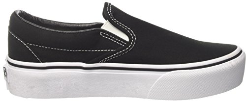 On Black Slip Trainers Classic Platform Blk Women��s black Vans Slip on p1qPwfYa