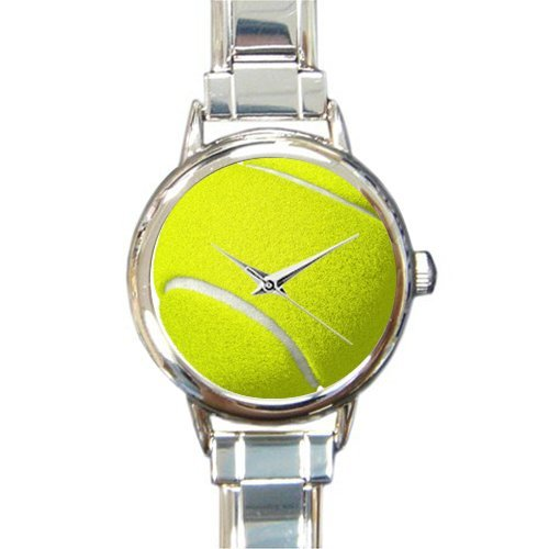 Italian Charm Ball Tennis - Birthday Gifts/New Year Gifts Stylish Tennis Ball Round Italian Charm Watch