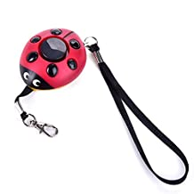 New Emergency Personal Alarm Keychain/The Wolf Alarm/ -Elderly/Kids Tracker, Safety / Attack / Protection / Panic / Self Defense Electronic Device with 130 db, Good for kids, Elderly, Women Who Work at Night, Adventurer, Perfect for Bag Decoration