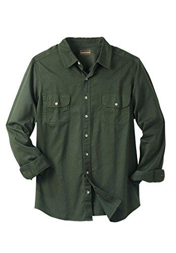 Boulder Creek Mens Big & Tall Long-Sleeve Renegade Shirt