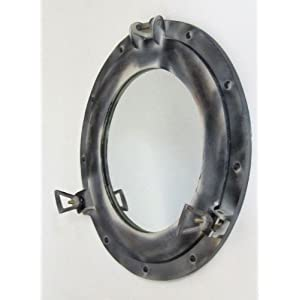 411iC47CU7L._SS300_ 100+ Porthole Themed Mirrors For Nautical Homes For 2020