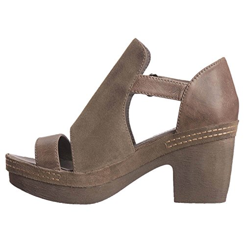 Antelope Womens 954 Suede Cover & Band Grijs