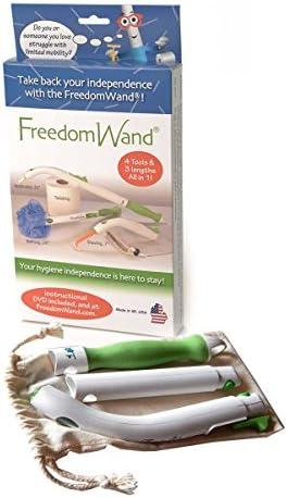 Amazon.com: Freedomwand Personal Hygiene & Bathroom Aid Toilet Tissue Tool: Health & Personal Care
