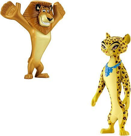 World of Madagascar Movie Exclusive 2Pack Alex -