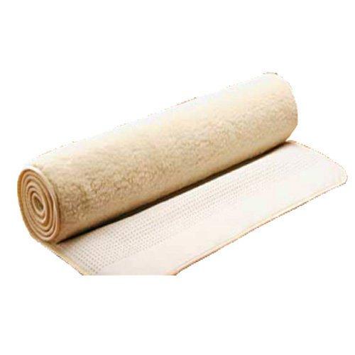 Saling, Yogamatte Jogamatte 75 x 200 cm, aus natürlichem Wollflor