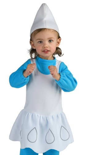 The Smurfs Movie Romper Costume, Smurfette, Toddler Size -