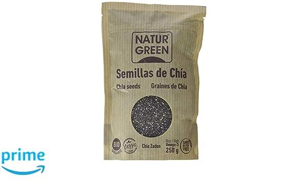 NaturGreen Semillas de Chía - Pack de 6 unidades de 250 gr: Amazon.es: Alimentación y bebidas