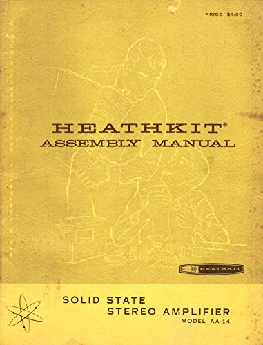 Used, Heathkit Solid State Stereo Amplifier Assembly Manual for sale  Delivered anywhere in USA