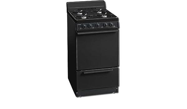 Amazon.com: Premier : 20 inch Gas Range w/ Electronic Ignition, Standard Clean Ove: Appliances